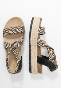 Simply Be - WIDE FIT DELAWARE - Espadrilles - multicolor - 3
