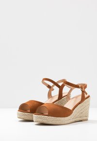 Simply Be - WIDE FIT DREE - High heeled sandals - tan - 4