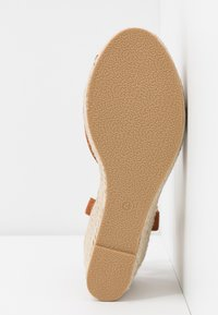 Simply Be - WIDE FIT DREE - High heeled sandals - tan - 6