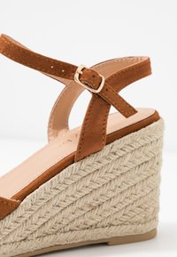 Simply Be - WIDE FIT DREE - High heeled sandals - tan - 2