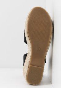 Simply Be - WIDE FIT TUSCANY - Sandalen met hoge hak - black - 6