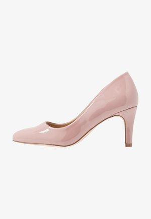 WIDE FIT BASIC COURT - Pumps - nude pink