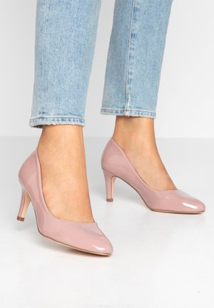 WIDE FIT BASIC COURT - Classic heels - nude pink