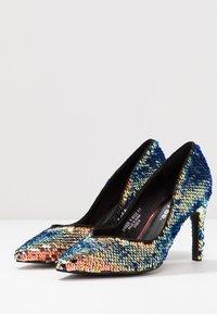 Simply Be - WIDE FIT ZANA DRESSY COURT SHOE - Korolliset avokkaat - multicolor - 3
