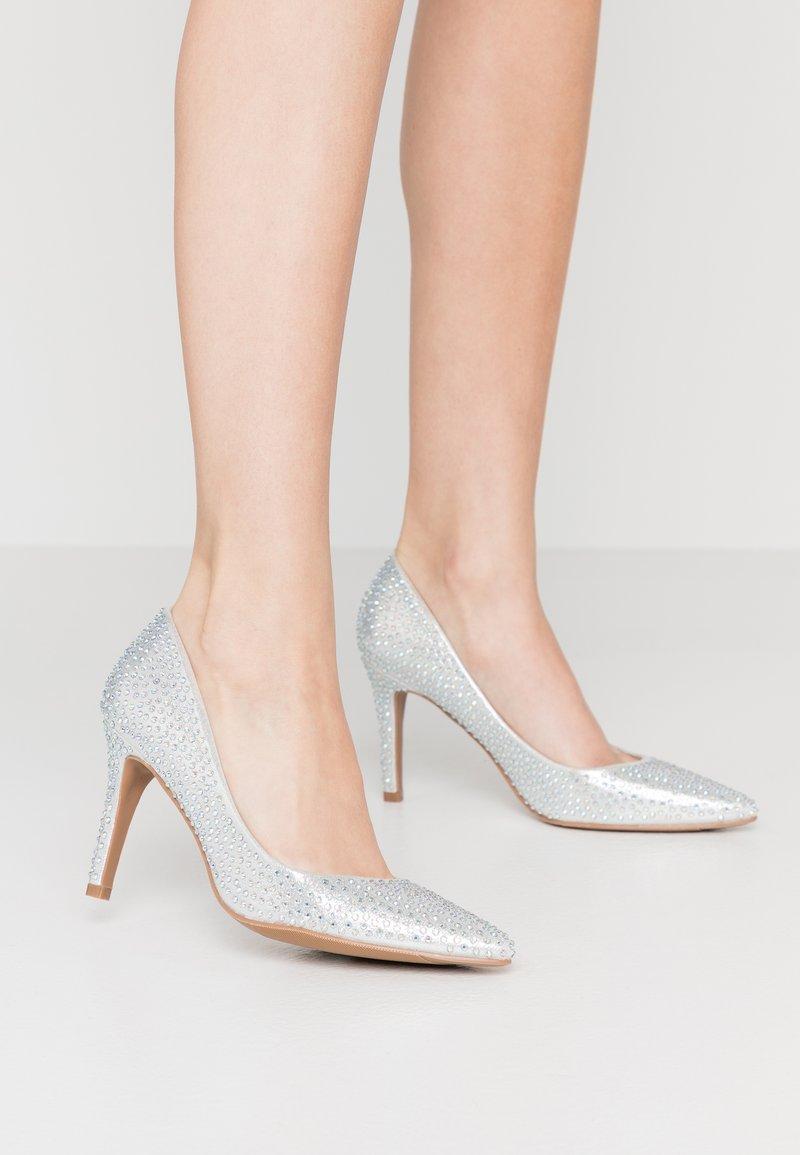 Simply Be - WIDE FIT VENUS - Høye hæler - silver