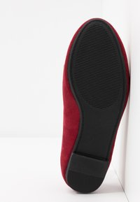 Simply Be - WIDE FIT GIANNA - Slip-ons - burgundy - 6