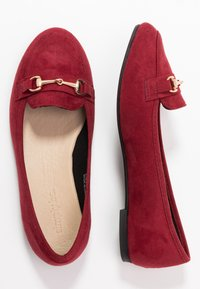 Simply Be - WIDE FIT GIANNA - Slip-ons - burgundy - 3