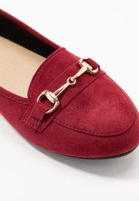 Simply Be - WIDE FIT GIANNA - Slip-ons - burgundy - 2