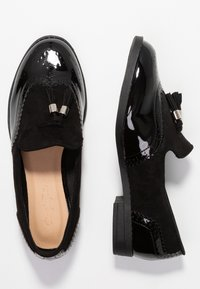 Simply Be - WIDE FIT JESSICA - Slip-ons - black - 3