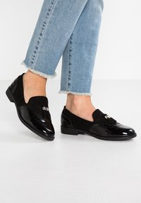Simply Be - WIDE FIT JESSICA - Slip-ons - black - 0