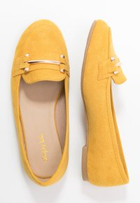 Simply Be - WIDE FIT TYCHE - Scarpe senza lacci - yellow - 3