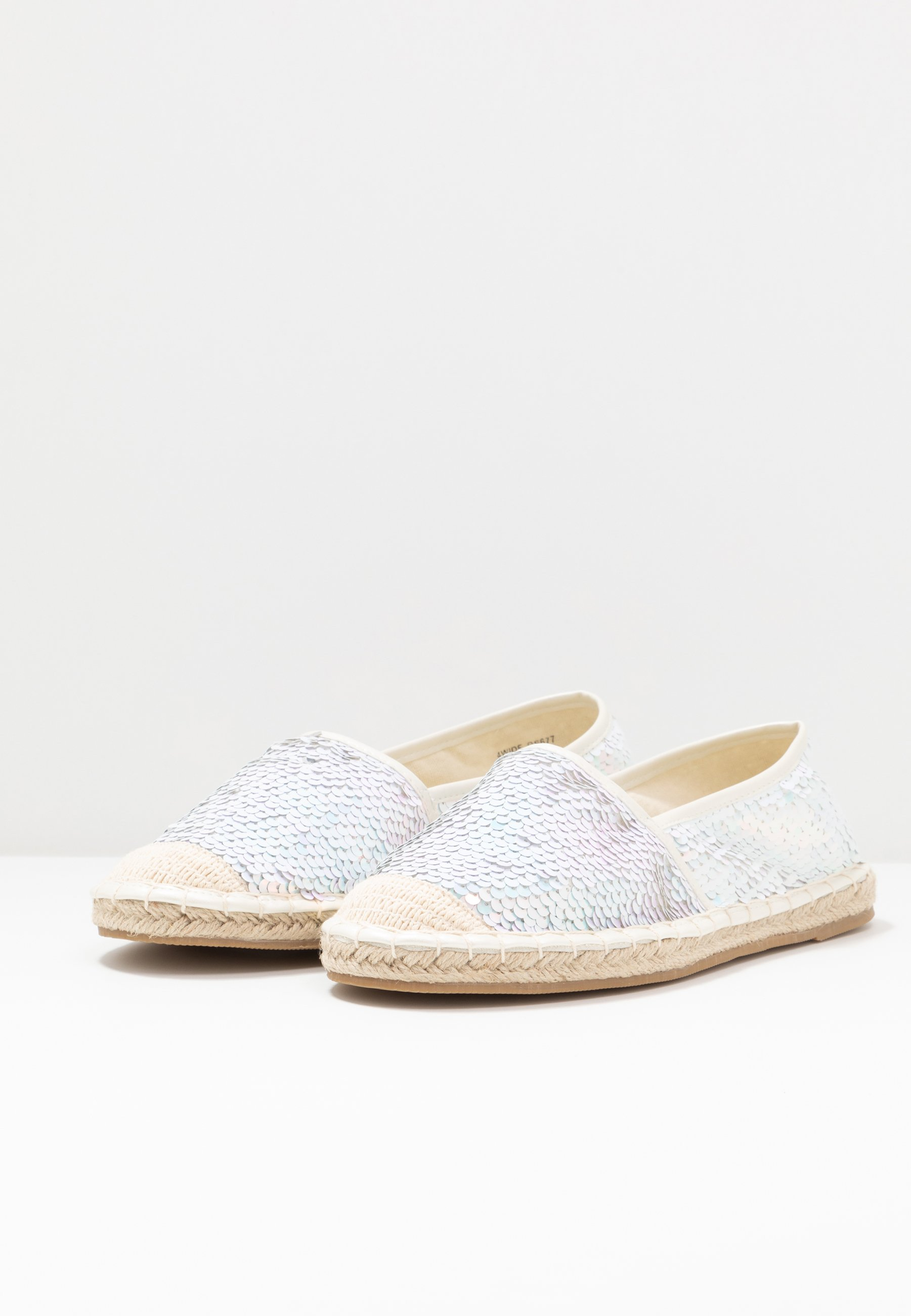 Simply Be WIDE FIT POLLY - Espadrille - mermaid