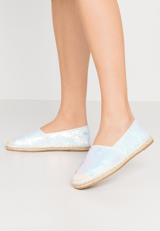 WIDE FIT POLLY - Espadrille - mermaid