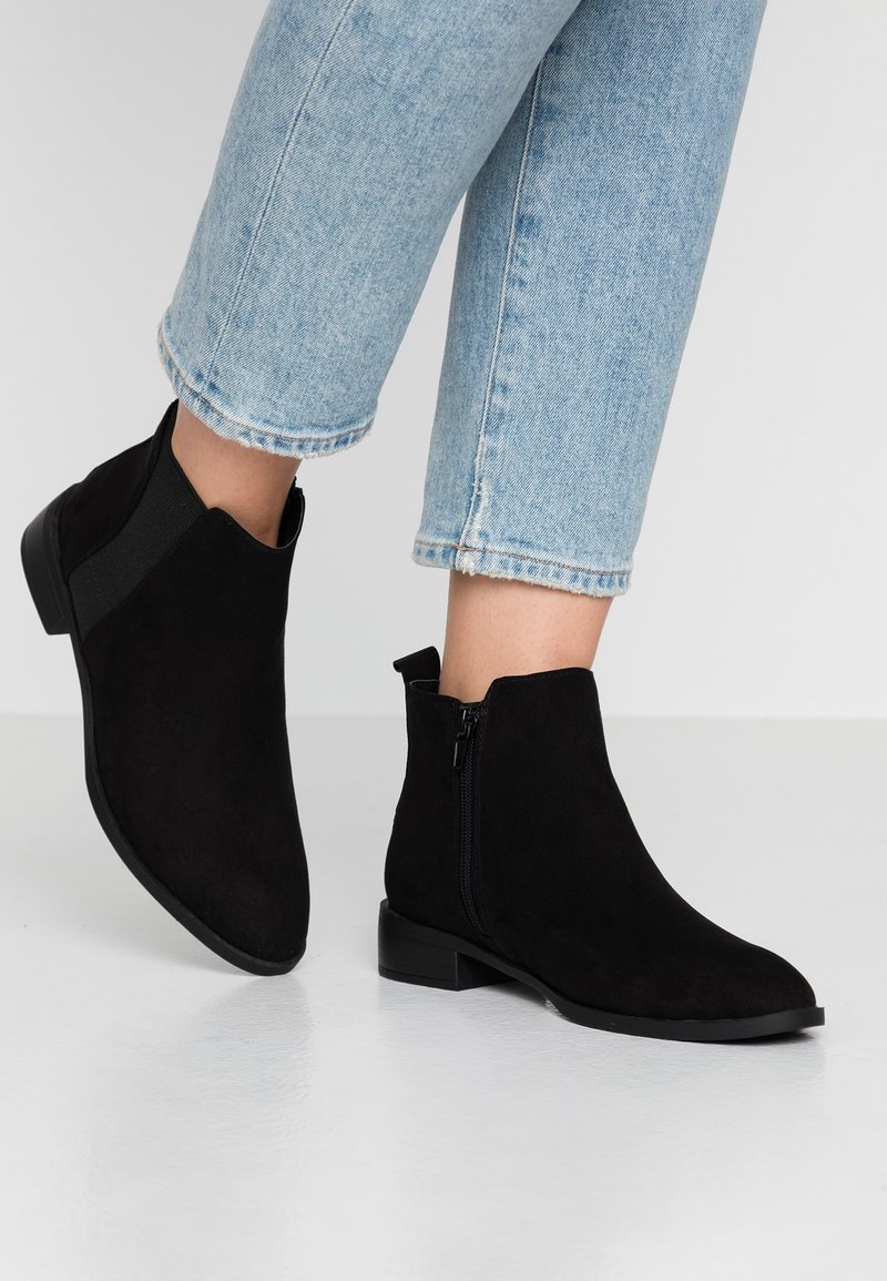 Simply Be - WIDE FIT BASIC CHELSEA BOOT - Stiefelette - black