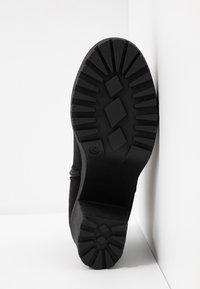 Simply Be - WIDE FIT CHUNKY HEEL CHELSEA - Korte laarzen - black - 6