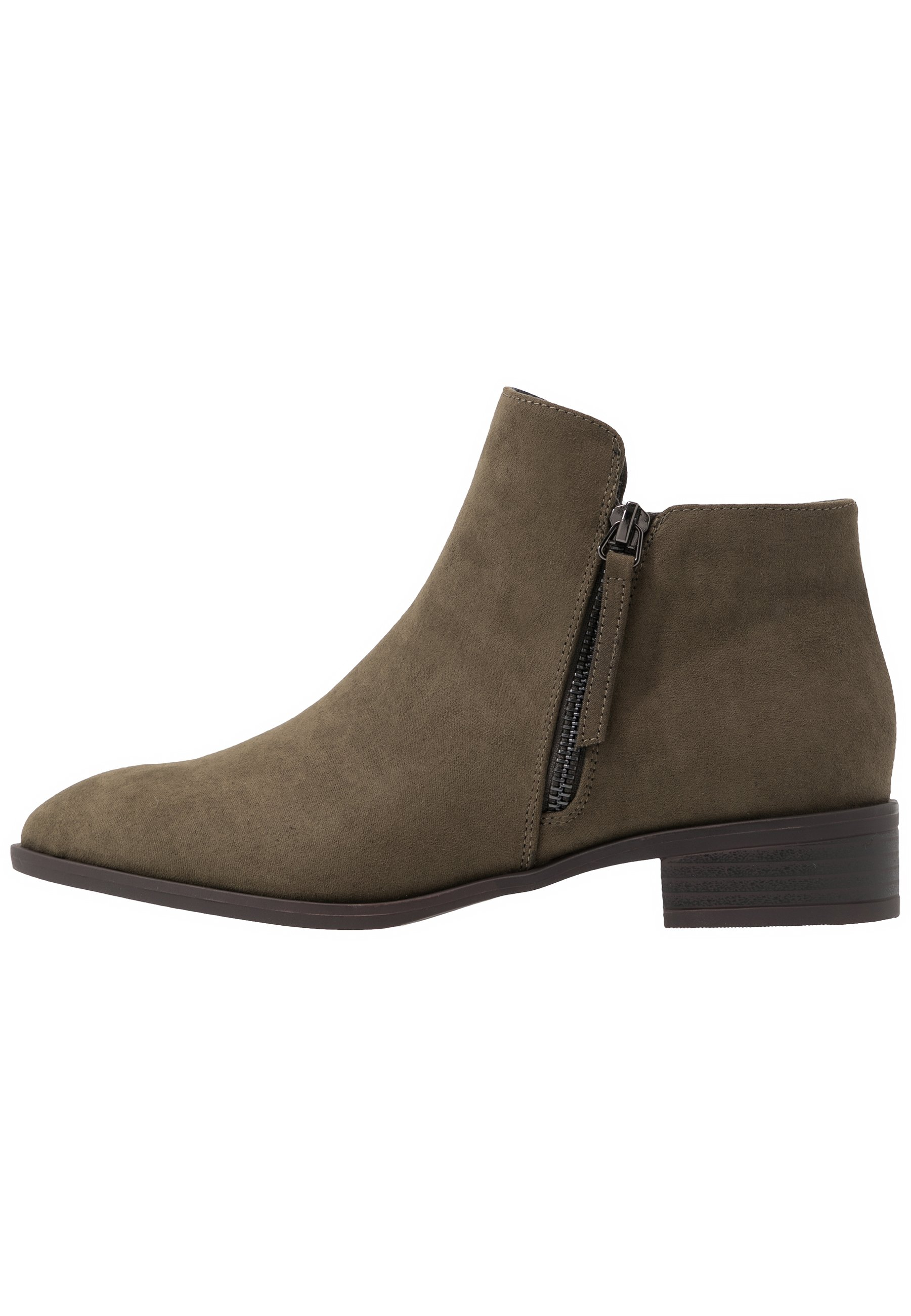 Simply Be WIDE FIT DAFFODIL - Ankle boot - khaki