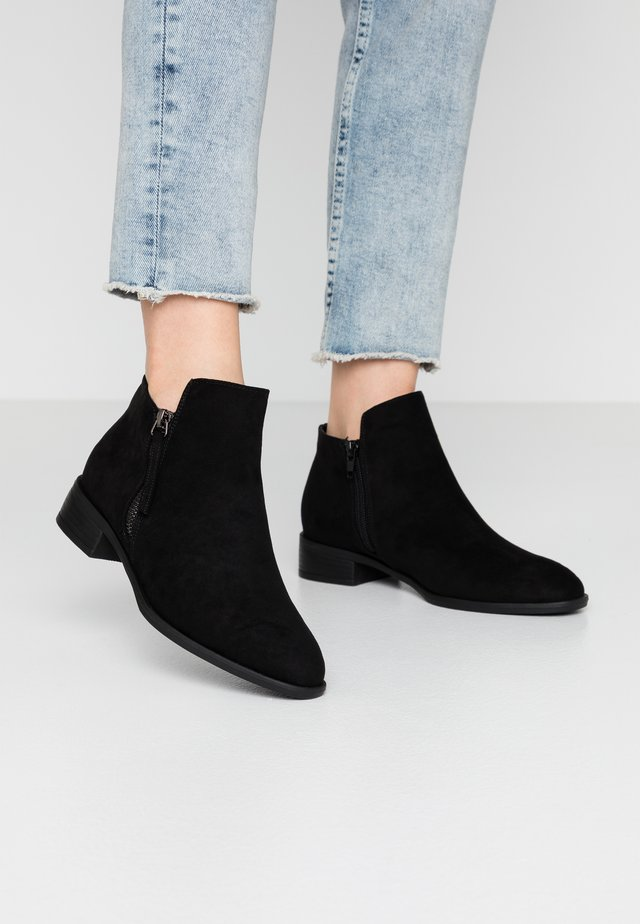 WIDE FIT DAFFODIL - Ankle boots - black