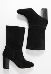 Simply Be - WIDE FIT GARDENIA - Classic ankle boots - black - 3