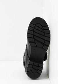 Simply Be - WIDE FIT MISHA - Kovbojské/motorkářské boty - black - 6
