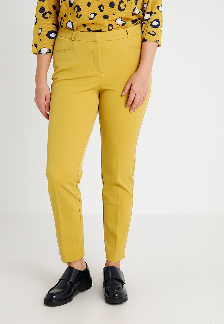 CAPSULE by Simply Be EVERYDAY KATE TROUSER - Chinosy - ochre