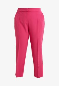 Simply Be - PRESS TROUSER - Kalhoty - pink - 4