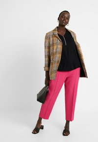 Simply Be - PRESS TROUSER - Kalhoty - pink - 2