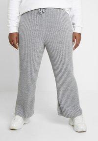 Simply Be - CULOTTES - Pantalon classique - grey marl - 0