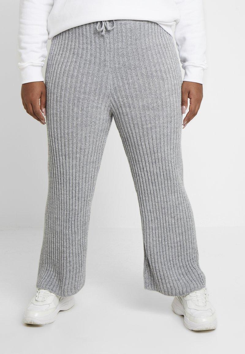 Simply Be - CULOTTES - Pantalon classique - grey marl