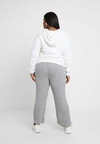 Simply Be - CULOTTES - Pantalon classique - grey marl - 2