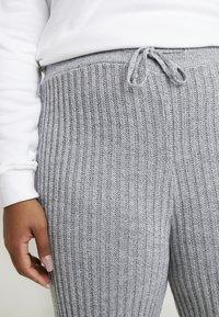 Simply Be - CULOTTES - Pantalon classique - grey marl - 5