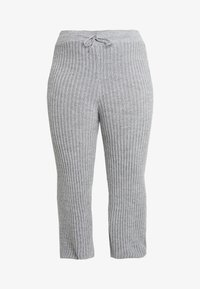 Simply Be - CULOTTES - Pantalon classique - grey marl - 4