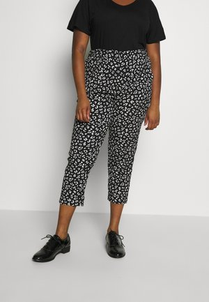 COSMO TAPERED TROUSER  - Kalhoty - black