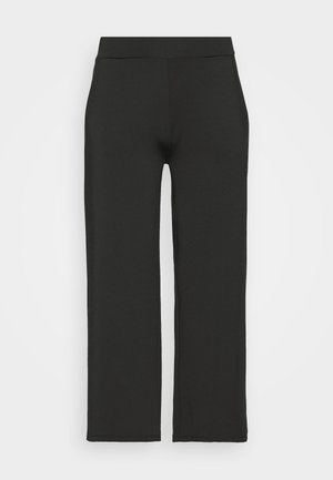 SCUBA TROUSERS - Pantalon classique - black