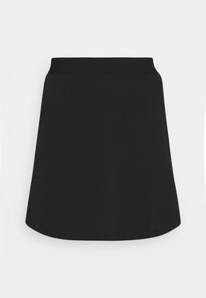 SKIRT MIX PLAIN - Minigonna - black