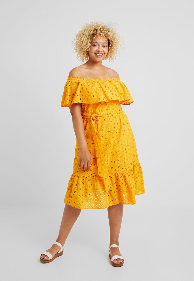 Simply Be - BARDOT DRESS - Hverdagskjoler - yellow
