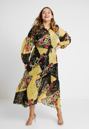 PEASANT PATCHWORK DRESS - Robe longue - patchwork
