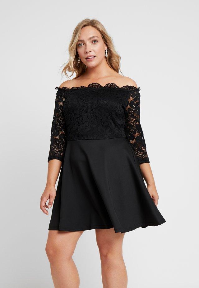 BARDOT PROM DRESS - Cocktailkjoler / festkjoler - black