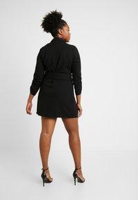 Simply Be - BLAZER DRESS - Jerseyjurk - black - 3