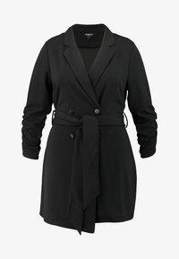 Simply Be - BLAZER DRESS - Jerseyjurk - black - 4