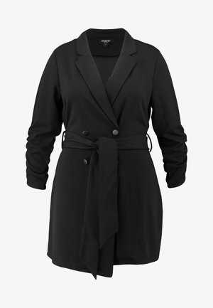 BLAZER DRESS - Žerzejové šaty - black