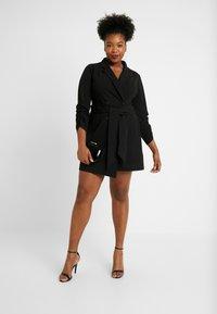 Simply Be - BLAZER DRESS - Jerseyjurk - black - 2