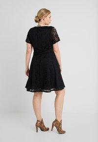 Simply Be - SKATER - Cocktailkleid/festliches Kleid - black - 3