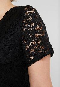 Simply Be - SKATER - Cocktailkleid/festliches Kleid - black - 6
