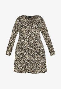 Simply Be - LONG SLEEVE SWING - Sukienka z dżerseju - multi-coloured - 4