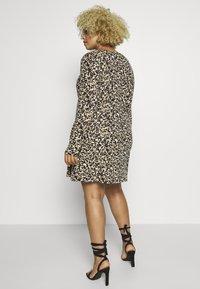 Simply Be - LONG SLEEVE SWING - Sukienka z dżerseju - multi-coloured - 2