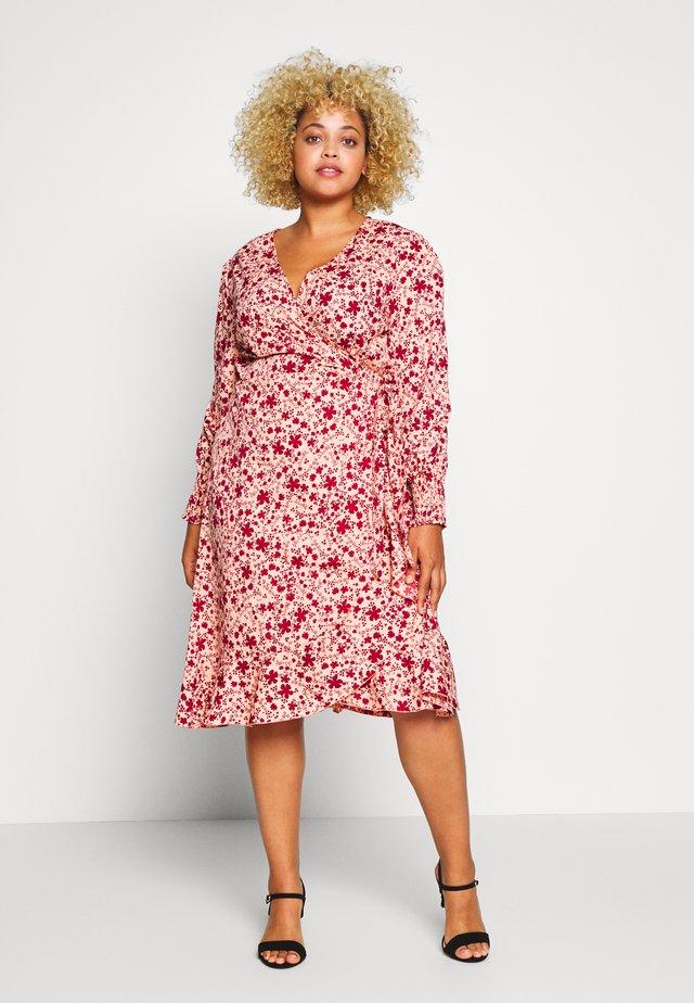 WRAP DRESS - Korte jurk - multi-coloured