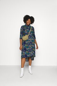 Simply Be - LONGLINE DRESS - Košilové šaty - multi-coloured - 1