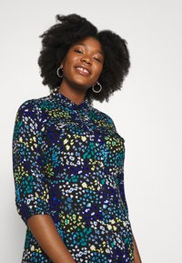 Simply Be - LONGLINE DRESS - Košilové šaty - multi-coloured - 3