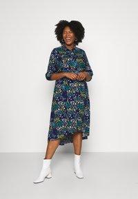 Simply Be - LONGLINE DRESS - Košilové šaty - multi-coloured - 0