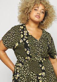 Simply Be - BUTTON THROUGH TEA DRESS - Hverdagskjoler - multi-coloured - 4